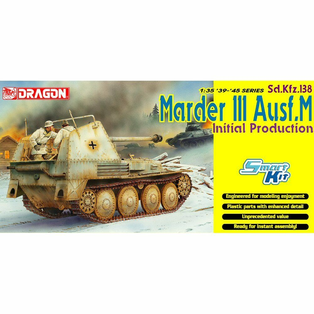 Dragon 6464 SdKfz 138 Marder III Ausf.M Initial Production 1 35 scale model kit