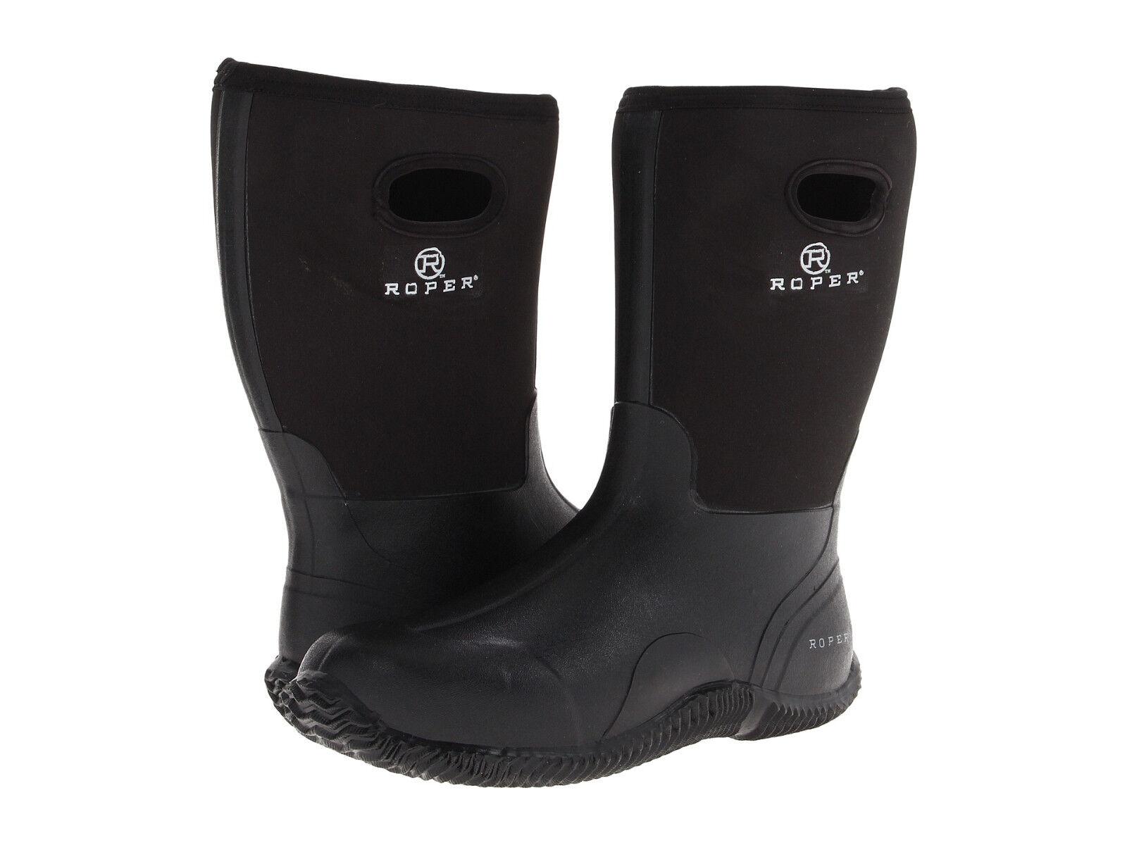 Roper Men's Neoprene Barn Boot (See fit description below)