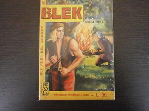 BLEK-LIBRETTO-n-70-ED-DARDO-ALBO-A-FUMETTI-ORIGINALE-1-EDIZIONE-NO-RISTAMPA