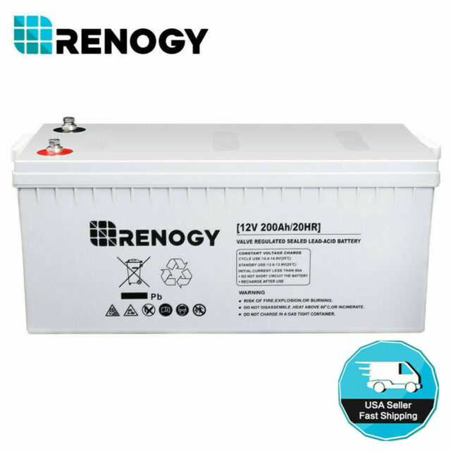 FREE SHIPPING 12V For Use With 2RXT8 10-2362 AQUANOT AGM Battery 100Ah