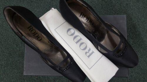 Zwart Satijn 36 Damesschoenen Italy Made 72970048627 In Maat Rodo pxUwH