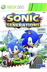Sonic Generations Xbox 360 Kids Game Xbox One/series X Compatible (The Hedgehog)