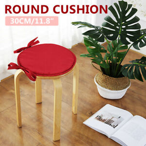 Round-Chair-Cushion-Pad-Home-Office-Dining-Seat-Soft-Mat-Patio-Indoor