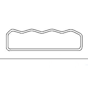 NEW Valve Cover Gasket Fits Case International Tractor 785 785XL 885 885XL 595