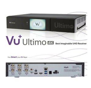 551c63651f VU+ Ultimo 4K 1xDVB-S2 FBC Twin PVR Receiver E2 Linux UHD 2160p ...