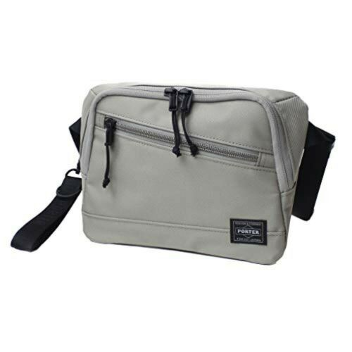 YOSHIDA PORTER FRONT WAIST BAG 687-17032 Gray With tracking From JP