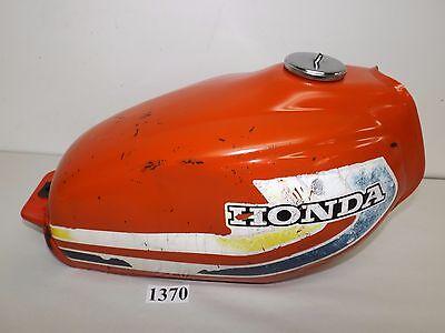 Honda XL250S XL250 XL 250 250S Motorcycle OEM Gas Tank Fuel Tank 78 1978 1370