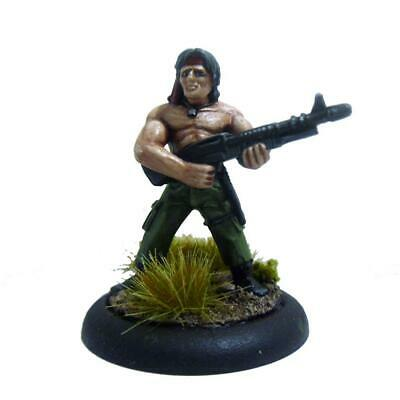 32mm Rambo Ispirato Figured - Ex-rogue Miniature - Minifigs - Rsf133