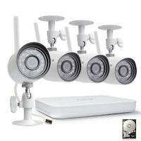 Funlux 1080p 4 Ch. NVR 500GB WiFi Outdoor IR-Cut Home Security Camera System