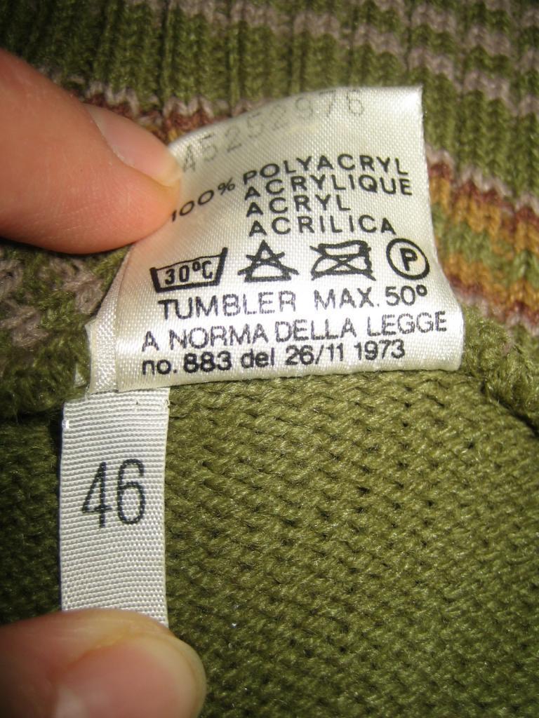 Pullover collo alla coreana verde Confezioni di lusso 80er 80er 80er True Vintage 80s NOS SWEATER b77fe8