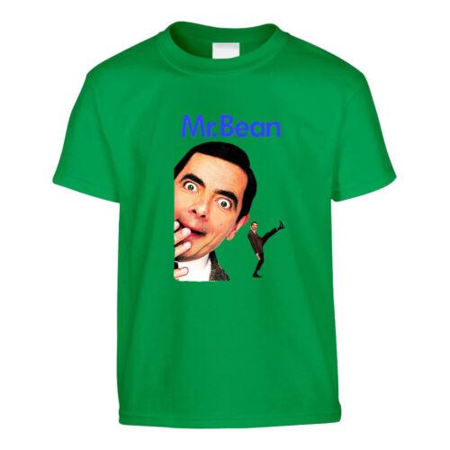 Mr Bean T-shirt Homme Imprimé Cartoon Drôle Anniversaire Enfants Persent Haut Cadeau Tees