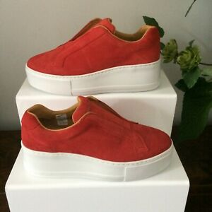 Russell-amp-Bromley-Park-Up-Flatform-Sneakers-Size-UK-4