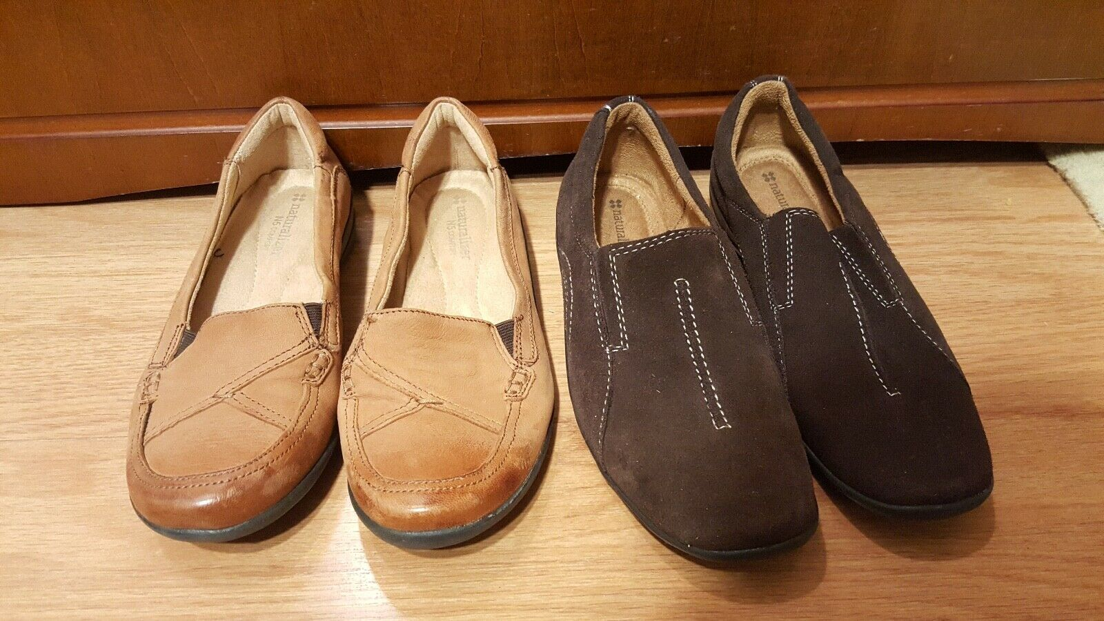 2 Pairs of Women's Naturalizer Flats Size 7.5