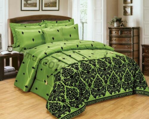 CURTAIN 5 PIECES BED IN A BAG BEDDING DUVET COVER BED 4PCS COMPLETE SET