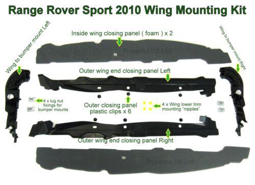 Range Rover Sport 2010 conversion Wing Kit de montage complet FENDER Brackets partie