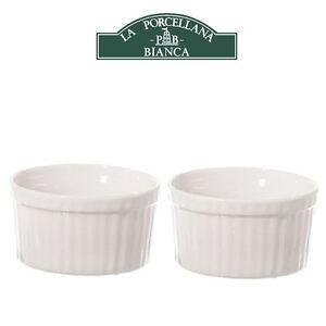 La Porcellana Bianca Arezzo White Baking Ramekin Ramekins in Various ...
