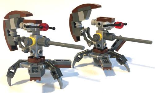 Lego Star Wars Figur 2x Droideka aus 75002 passt 75092 75045 7662 75000 8039 Neu