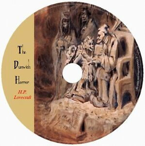 THE DUNWICH HORROR by HP Lovecraft 1 Audio CD Cthulhu Old