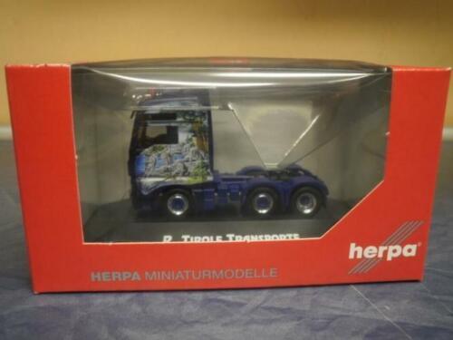 Herpa LKW MAN TG-X XXL//Aerop SZM Tirolf 3achs 110570