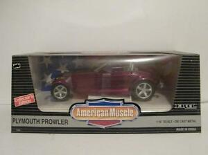 Ertl American Muscle 1:18 Plymouth Prowler Collectors Edition Diecast Metal Car