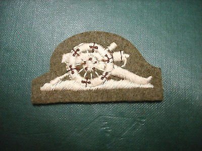 British Army Royal Artillery Cannon No2 Dress Patch