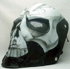 "Army of Two ""40th Day Skull"" SlipKnot Custom Fiberglass Paintball / Airsoft Mask"