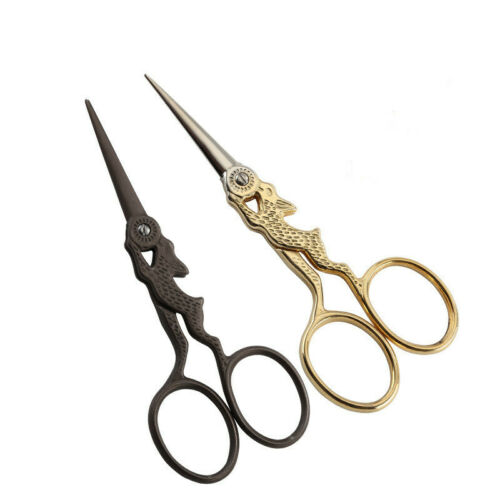Vintage Crane Scissors Embroidery Cutter Handcraft Sewing Tailor/'s Shears Tools