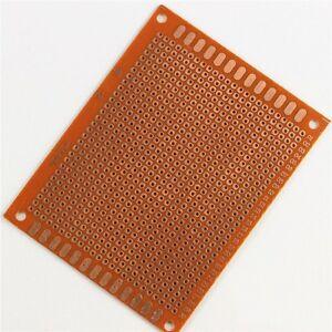 10 pcs 7x9cm diy breadboard universal printed circuit panel boardimage is loading 10 pcs 7x9cm diy breadboard universal printed circuit