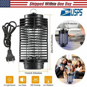 UV-Night-Lamp-Electric-Control-Fly-Bug-Insect-Trap-Zapper-Pest-Mosquito-Killer