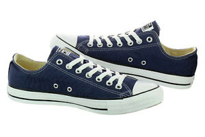 Converse Chucks Taylor All Star Ox Low Scarpe Sneaker M9697 Blu/Blu marino