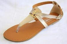 New Kelly Women Sandals Shoes Gladiator Thong Flops T Strap Flip Flat Strappy