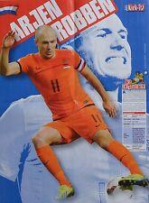 ARJEN ROBBEN - A2 Poster (XL - 42 x 55 cm) - Fußball Clippings Fan Sammlung