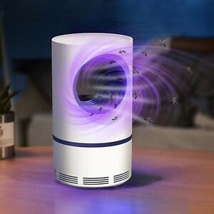 Mata mosquitos fotocatalizador para control de plagas con enchufe USB