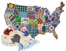 Puzzle 600 Partes - Burgess: Un Americano Quilt (Puzle) de SunsOut