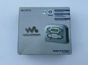 WALKMAN-SONY-WM-FX491-FM-AM-Radio-Cassette-Player-Brand-New