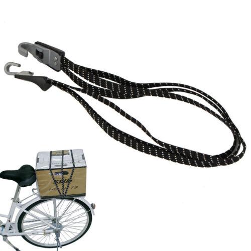 Bicycle Bike Cycling Hook Elastic Rope Bungee Cord Bandage Luggage Strap Ban VQ
