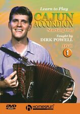 Learn to Play Cajun Accordion DVD One - Starting Out DVD Instructional 000641844