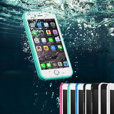 Waterproof Shockproof TPU Hard Silicone Case Cover For Apple iPhone 5s 6 6s Plus