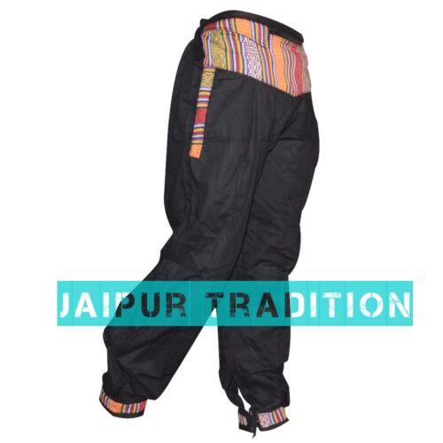 Indian-Ali-Baba-Harem-Pants-Baggy-Hippie-men-woman-Boho-Genie-100-Cotton