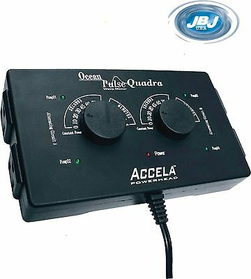NEW!! JBJ Ocean Pulse QUADRA Wave Maker (4 pump controller regulator) H2O Motion
