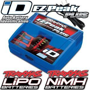 Traxxas-2970-EZ-Peak-Plus-4-Amp-Auto-iD-LiPo-NiMH-Battery-Charger-E-REVO-SLASH