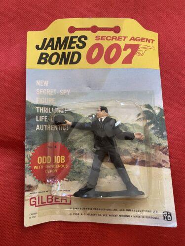 James Bond agent secret 007 Odd Job #4 1965 Gilbert Co.