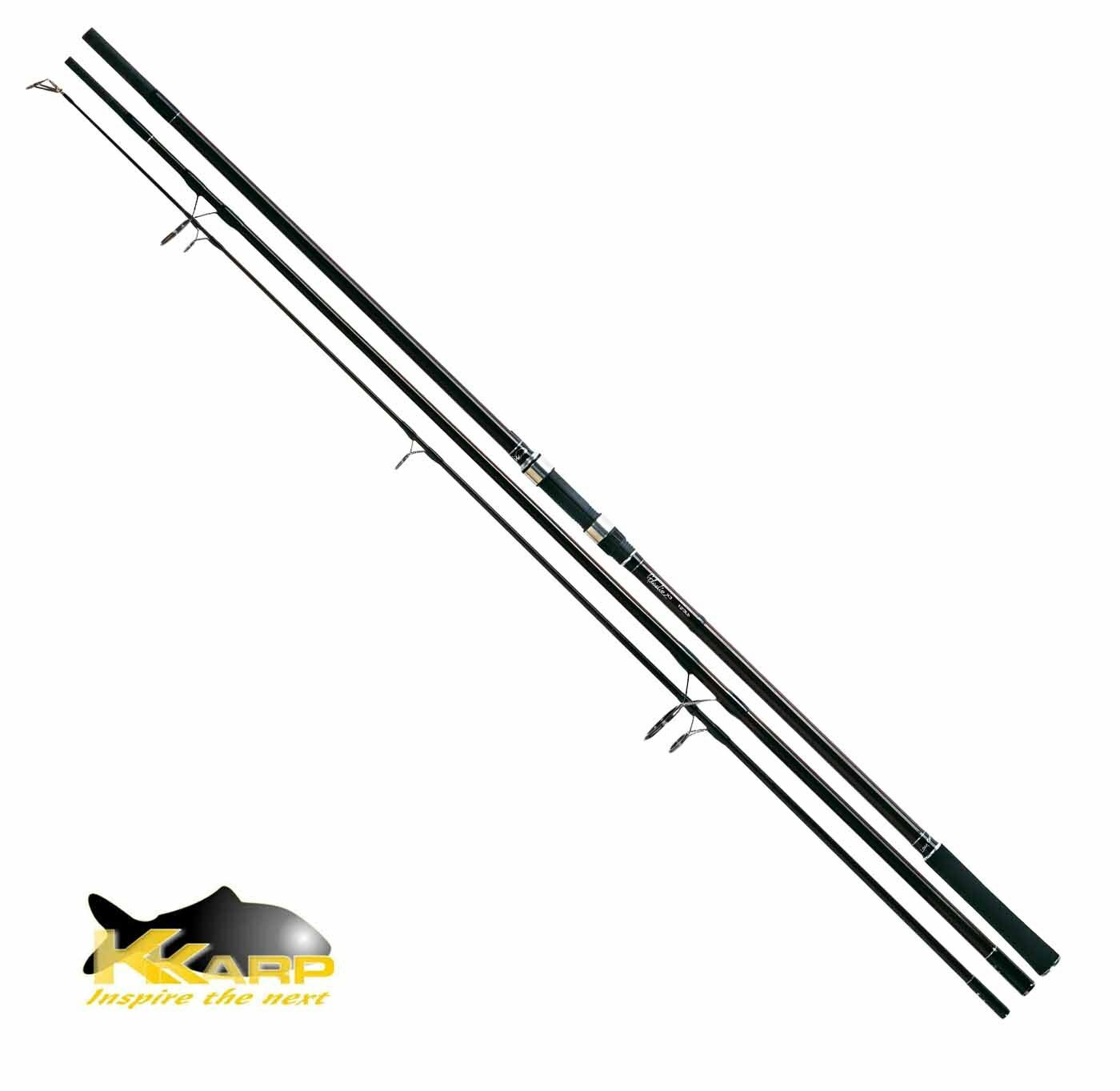 15838360 Canna KKarp Gladio X3 360 cm 3.00 Lbs Pesca Carpfishing SHM Carbo CSP