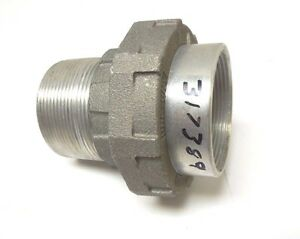 "APPLETON UNY200NR-A 2"" NPT MALE UNION ALUMINUM EXP PROOF CONDUIT FITTING <269A2"