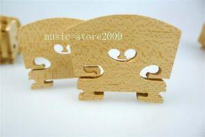 100pcs nice 1/2 violin bridges,Great 2/4 violin bridges,Free shipping