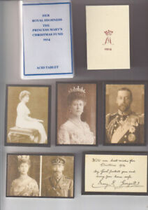 REPRODUCTION PRINCESS MARY 1914  NON SMOKERS (ACID TABLET) XMAS TIN SET