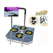 DDR ENERGY ARCADE METAL DANCE PAD PS2 XBOX PC Wii