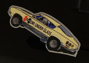 Hemi Under Glass Wheelstander Decal Sticker - Hurst NHRA IHRA Drag Racing