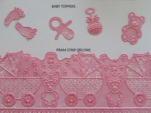 Edible-Cake-Lace-Baby-Cupcake-toppers-baby-cake-lace-strips