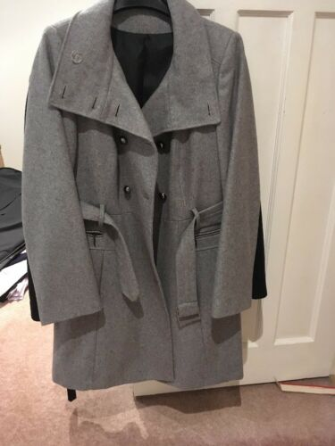 jas Mix maat 16 s ooit Grey Wool M gedragen 60 TvIqtf